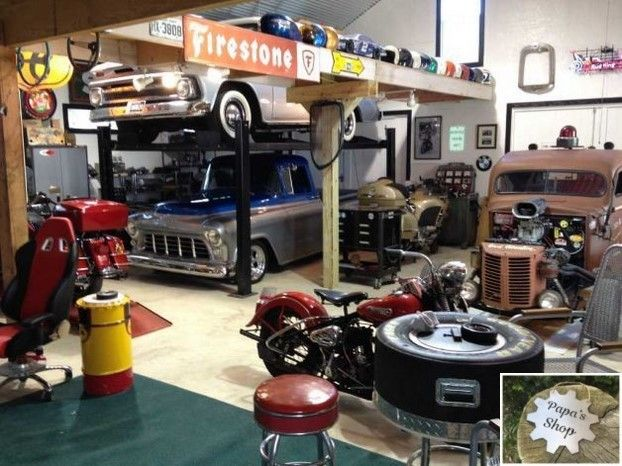 Pics Of Interior Garage Shops As Well As Exterior