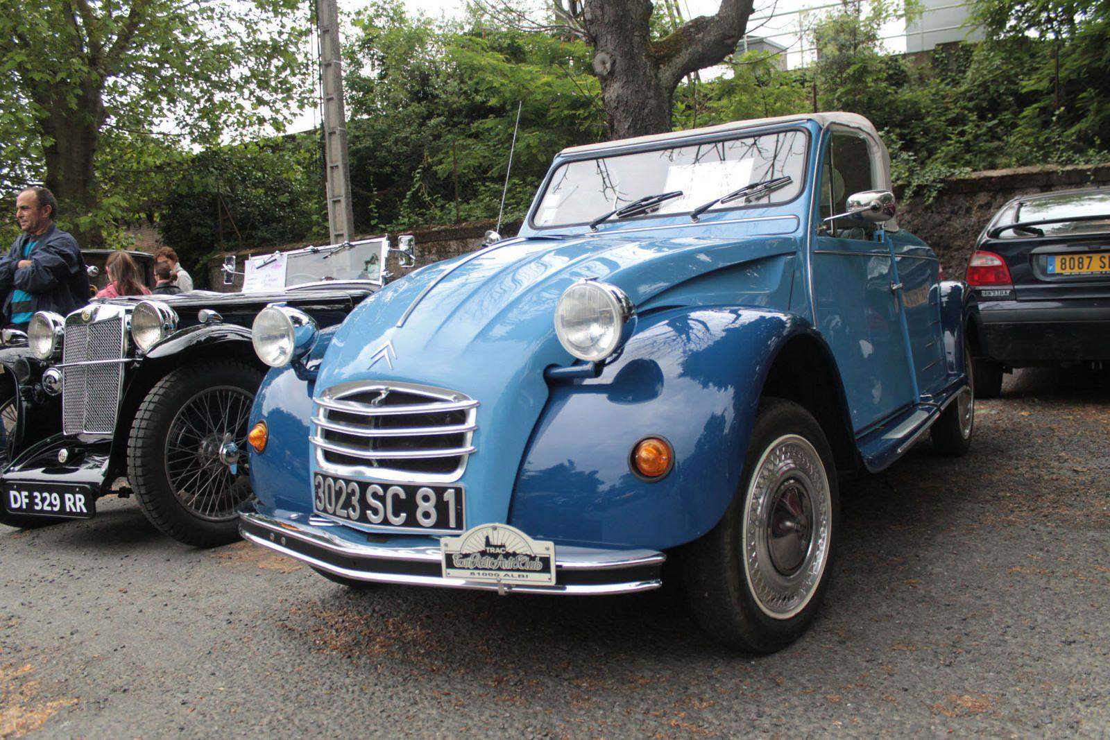 https://flic.kr/p/sRyyiG   Hoffmann 2CV cabriolet   Citroën 2CV cabriolet Hoffmann hier à Albi