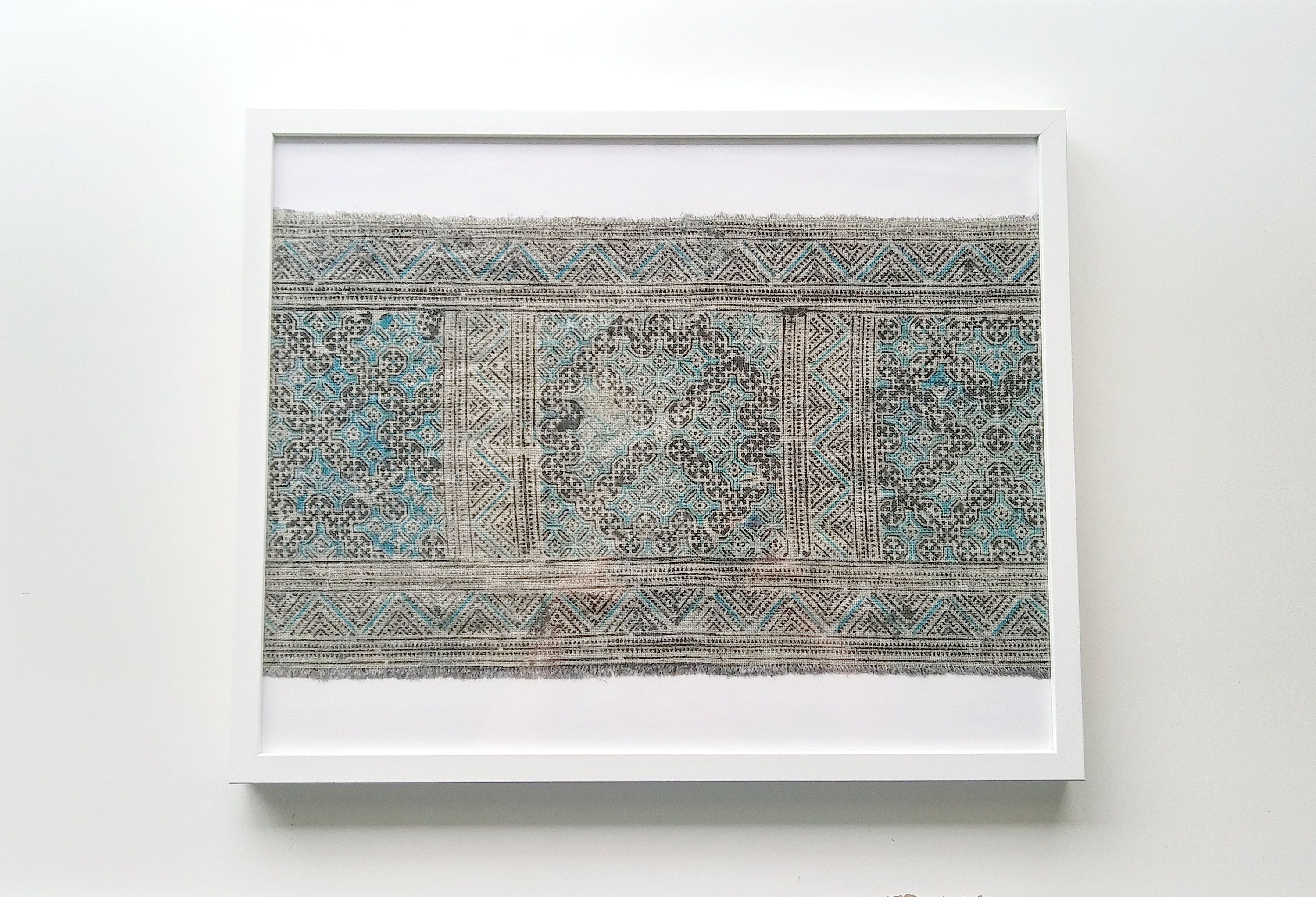 Pin On Framed Textiles