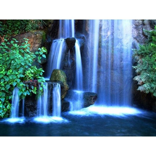 Free Download Waterfall Wallpapers Found On Polyvore Waterfall Pictures Waterfall Waterfall Wallpaper Free download waterfall gif wallpaper
