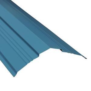 Best Metal Sales 8 Ft Classic Rib Steel Roof Panel In Ocean 400 x 300