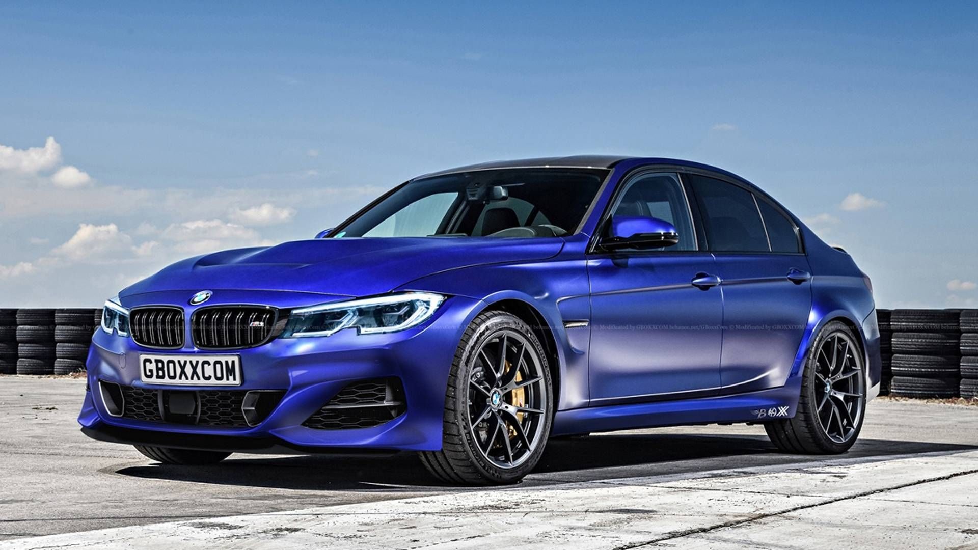 Next Gen 2020 Bmw M3 Rendered Looks Like M3 Cs With New Face