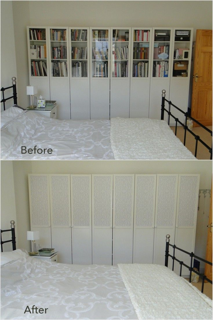 Styling The Ikea Billy Bookcases Oxberg Glass Doors Ikea Decor