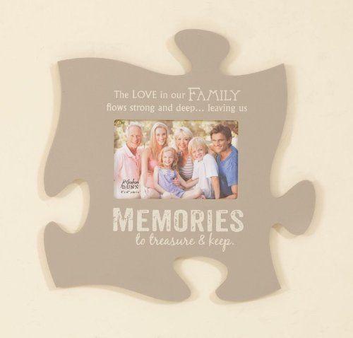P Graham Dunn Picture Frame Puzzle Piece 12x12 Memories