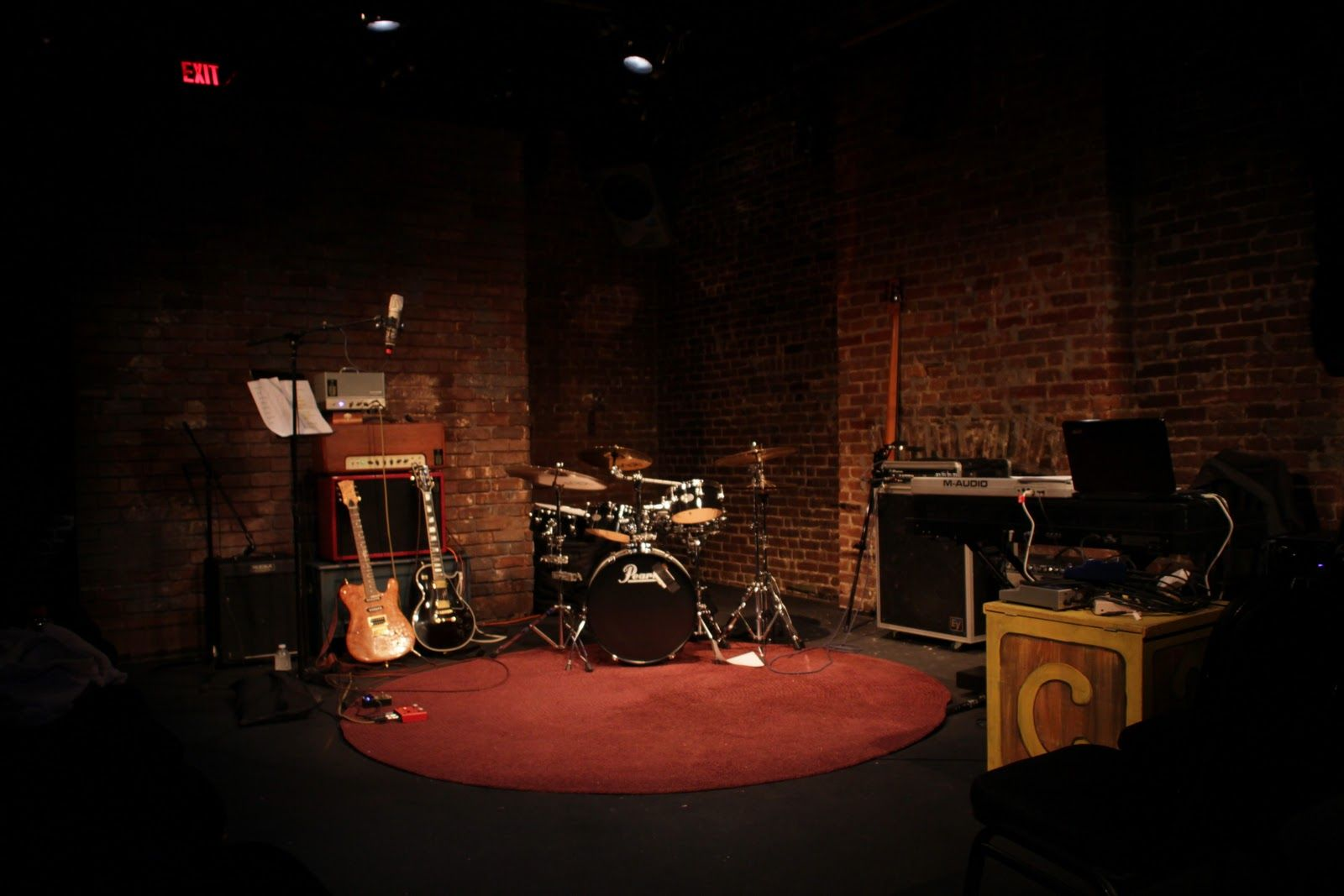 empty band stage - Google Search (With images) | Concert ...
