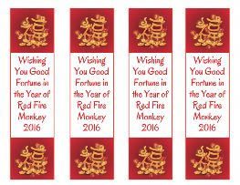 wishing you good fortune for chinese new year free printable bookmarks set of 4