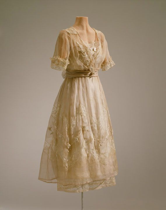 fripperiesandfobs: Lucile Ltd. afternoon dress, 1919-20