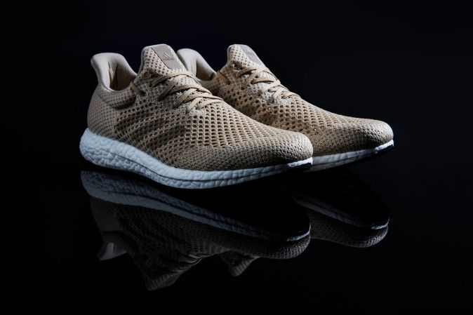 This is the first Adidas shoe made almost entirely by robots