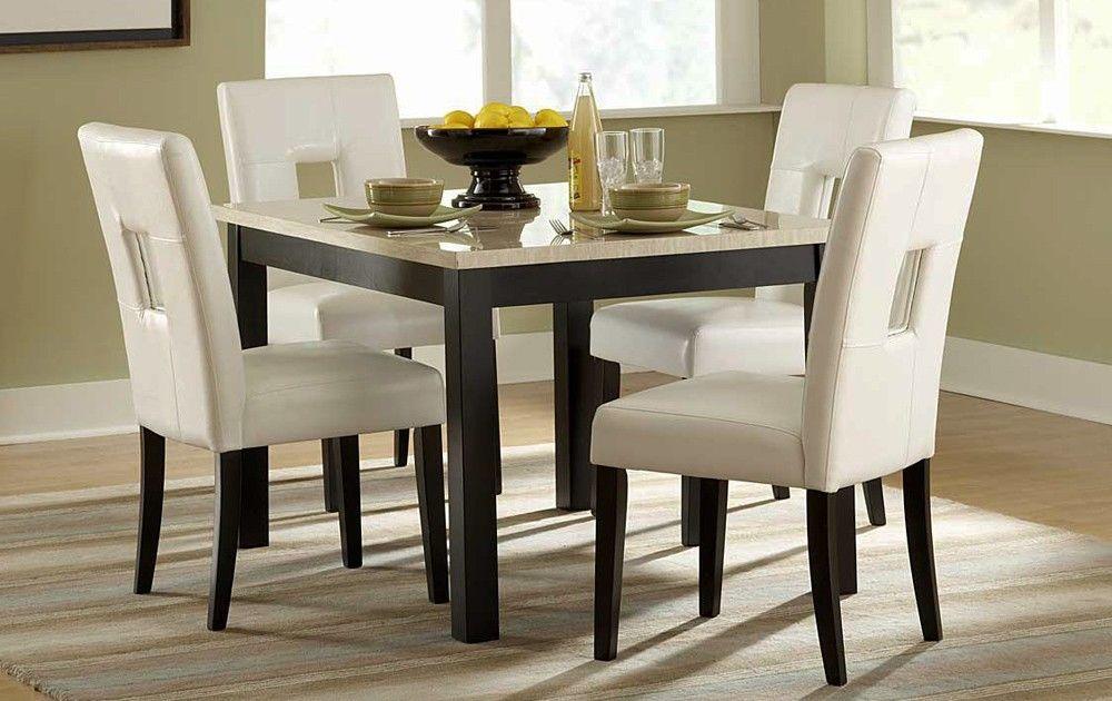 Archstone Marble Top Kitchen Table Set Modern Kitchen Tables