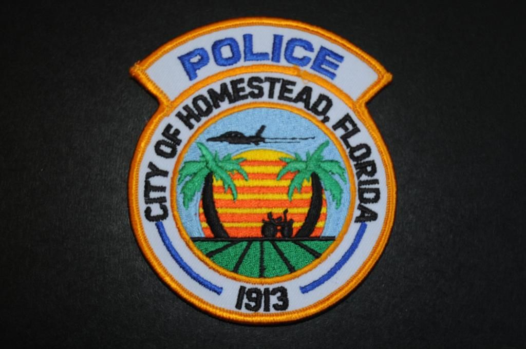 homestead police patch miami dade county florida current issue rh pinterest com