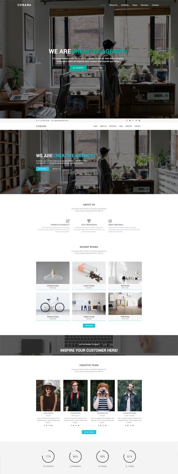Cubana v2 - Multipurpose Template. HTML/CSS Themes. $12.00 | HTML ...