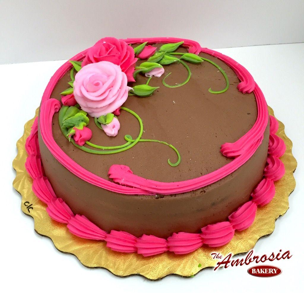 Classic Birthday Cake The Ambrosia Bakery Cake Designs