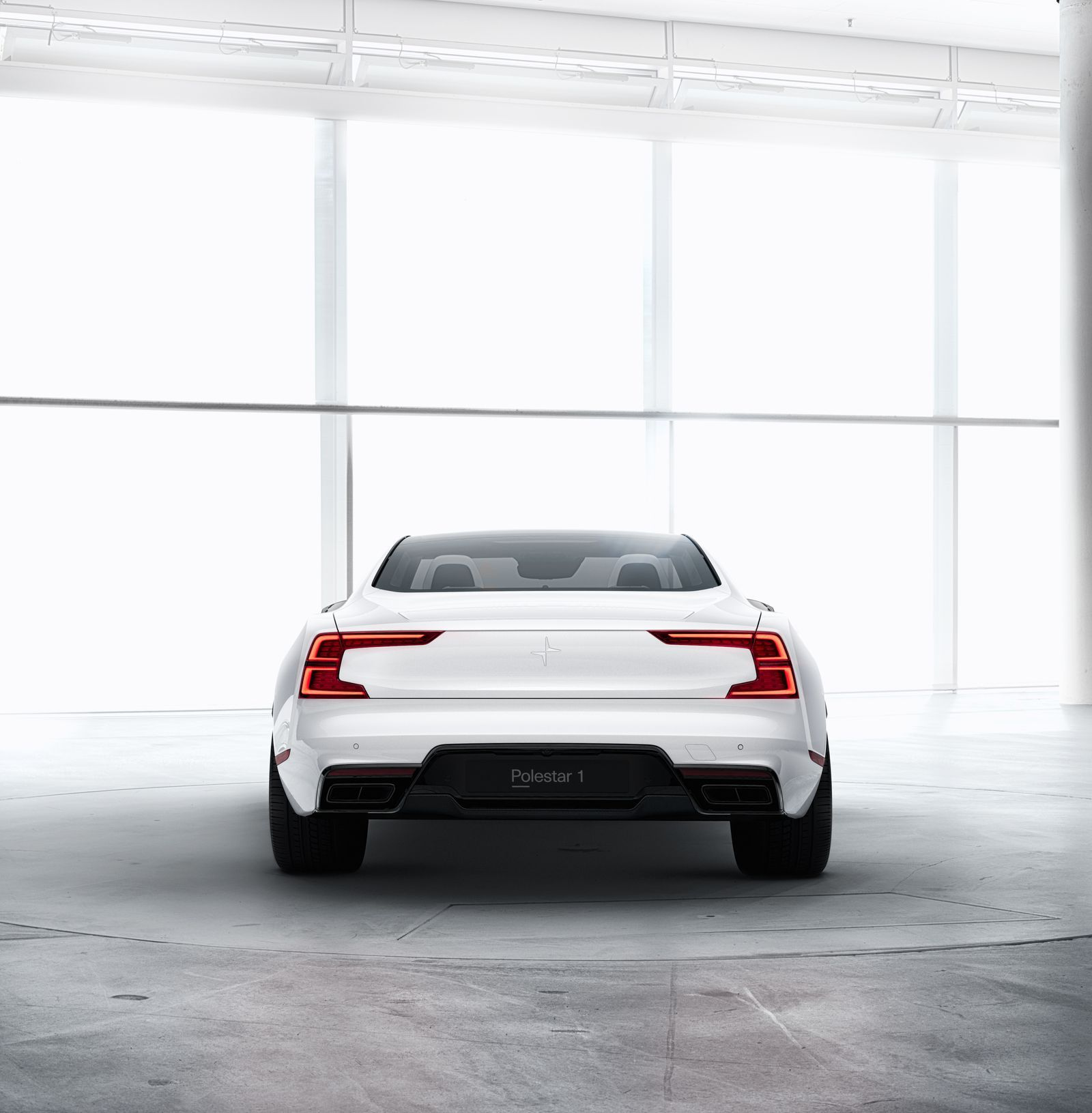 The Polestar 1 Is A 600 Horse Hybrid Sports Coupe From Volvo Verge