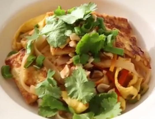 Pad thai con Tofu