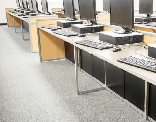 Computer Lab Furniture Customized for Any Space by | Bibliotecas
