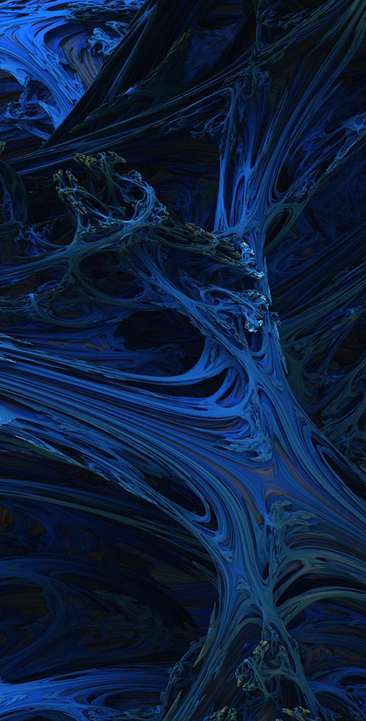 Ga galaxy s8 wallpaper stock - Dark Blue Wallpaper Pattern Galaxy Colour Abstract Digital Art