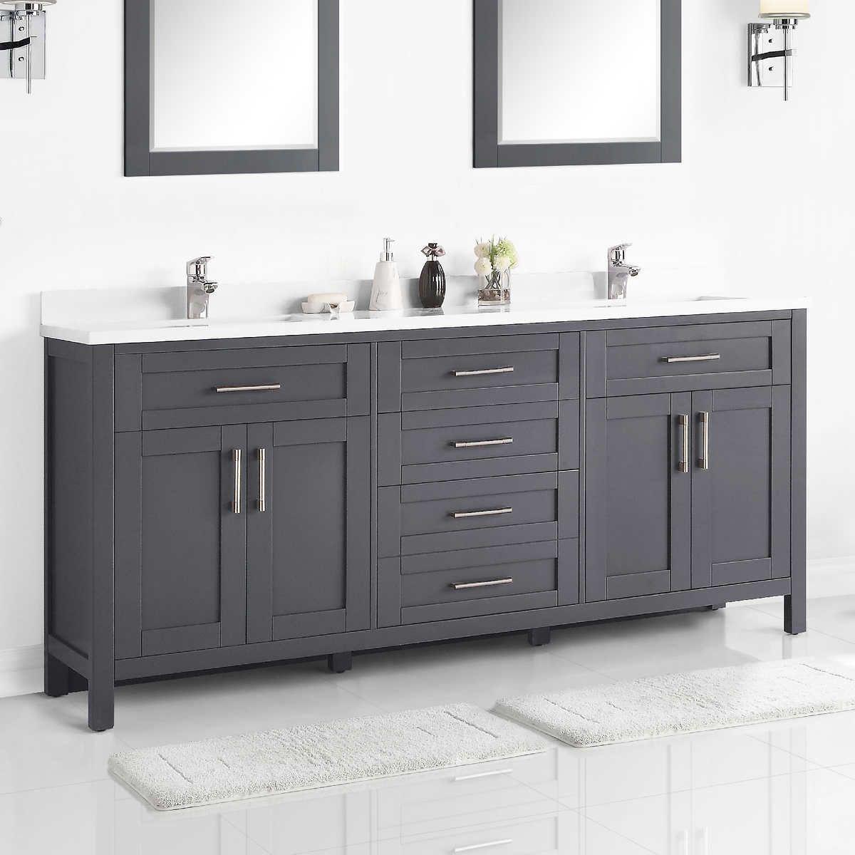 Ove Decors Lakeview 72 Vanity 72 Vanity Bathroom Interior Contemporary Bathroom Designs