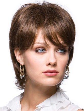 Женские стрижки полного лица