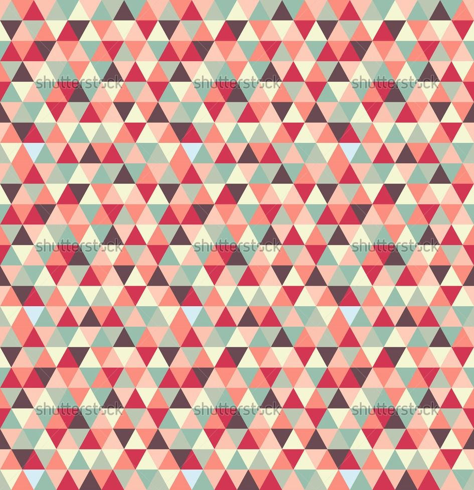 Geometric patterns triangle vector example of abstract Geometric patterns