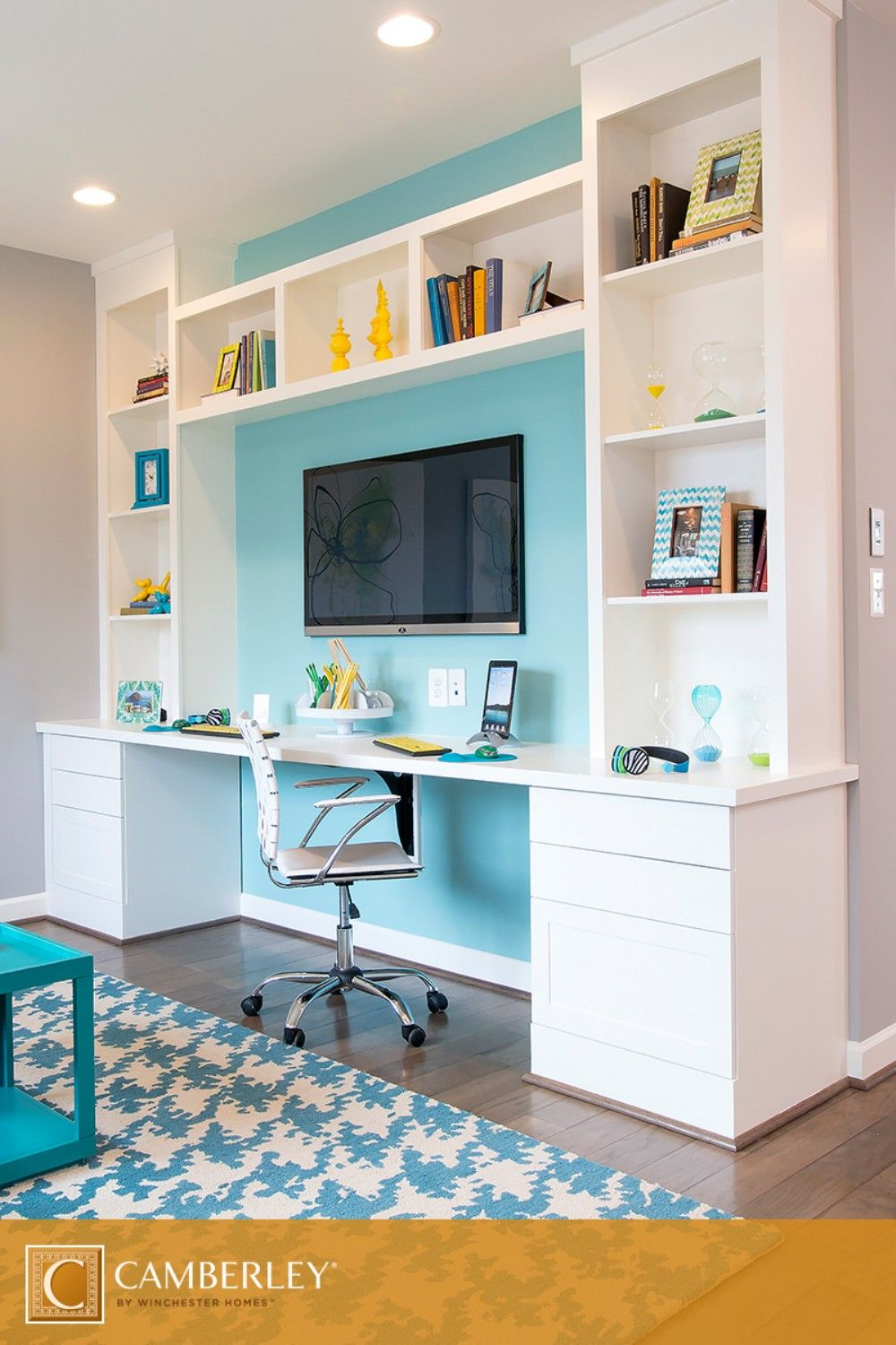 Colorful Home Office 25 colorful home office renovating ideas | awesome, offices and home