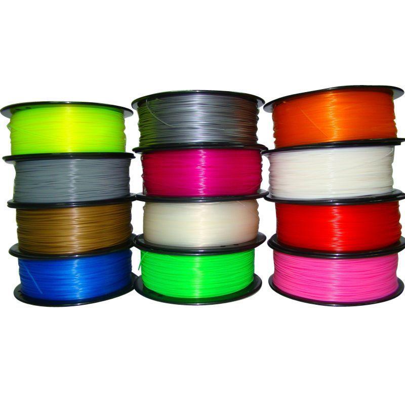 3D Printer Filament 1kg 2.2lb 1.75mm//3mm ABS PLA For Printer Print Pen MakerBot