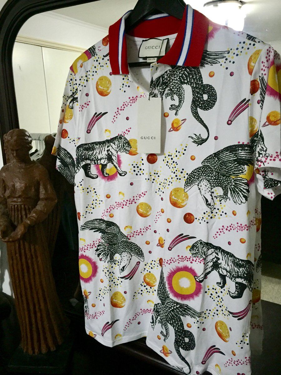 6fd2ddc0e Gucci Shirt (2017 Space Collection ) Exclusive!! – OmarsHighEndStore.com