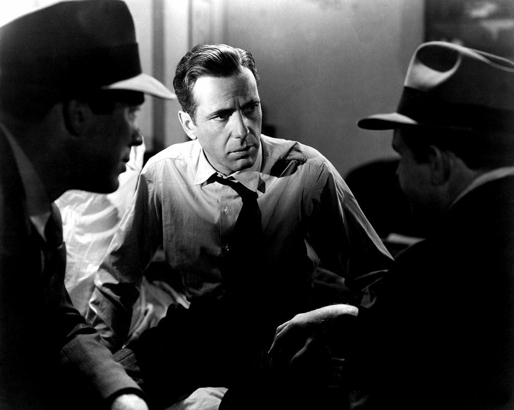 The Maltese Falcon // dir. John Huston Humphrey Bogart