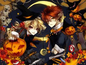 Anime Couples Halloween Anime Couples Anime Halloween Anime