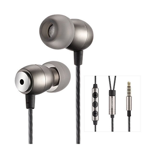 baef3e3988e Betron GLD100 Earphones Headphones High Definition in-ear Tangle Free Noise  Isolating Bass Driven Sound for iPhone iPod iPad Samsung Tablets and Mp3  Players ...