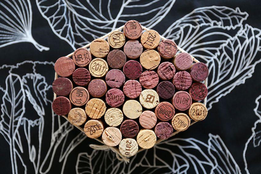 diy cork trivet