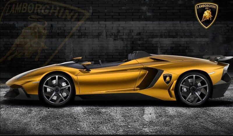 Lamborghini Aventador J Gold US$7.5 Million (£4 Million