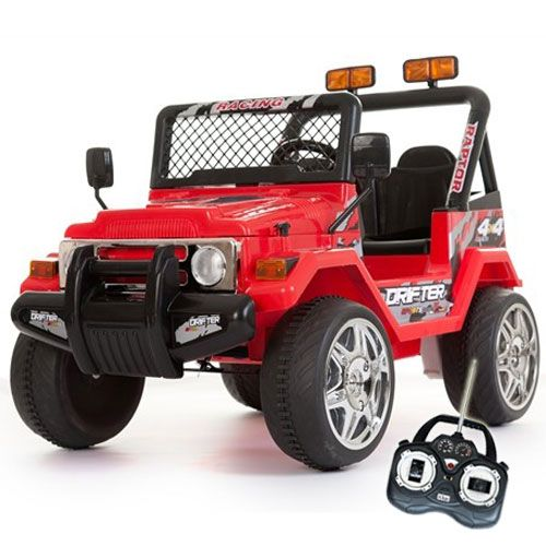 12v red two seater off road kids electric jeep 16999 kids electric cars