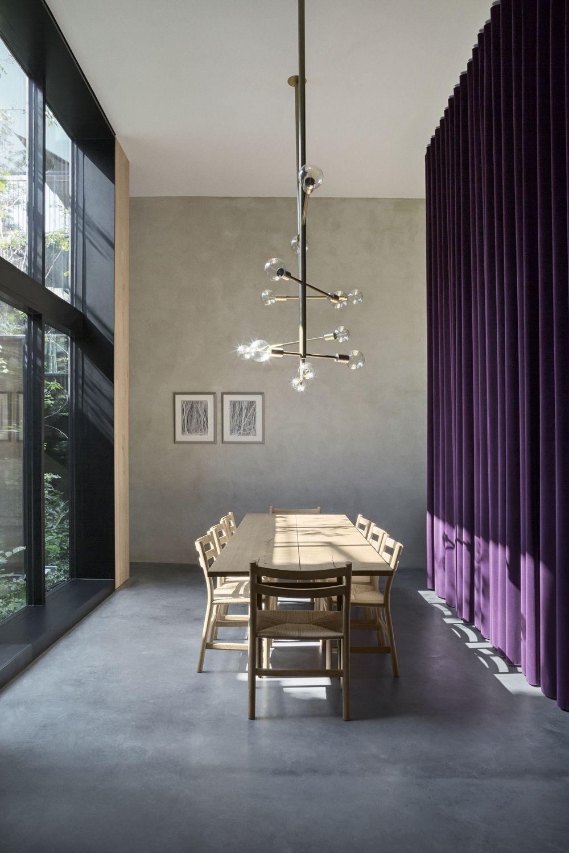 Home-office-innenarchitektur inspiration wohnen auf dem parkplatz  atriumhaus in kopenhagen