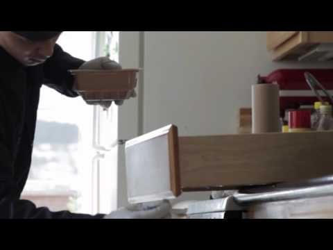 Do Your Kitchen Cabinets Need A Touch Up Watch This Video