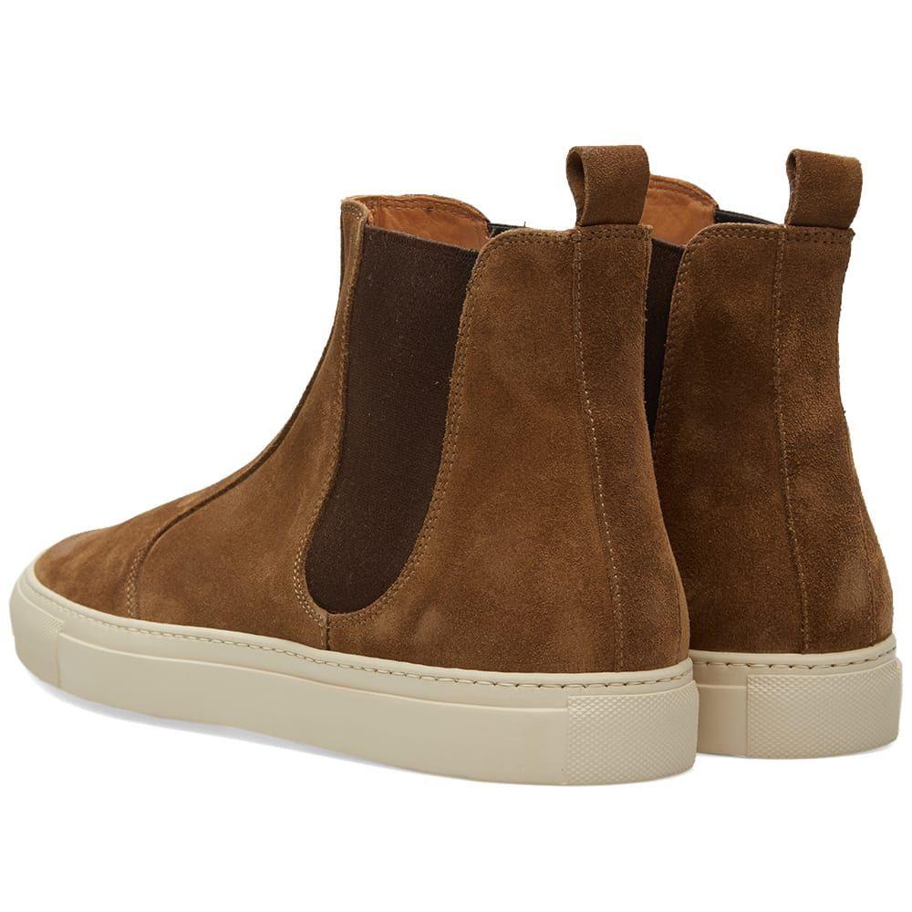 Buttero Tanino Suede Chelsea Boot