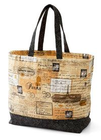 Free bag pattern from all people quilt