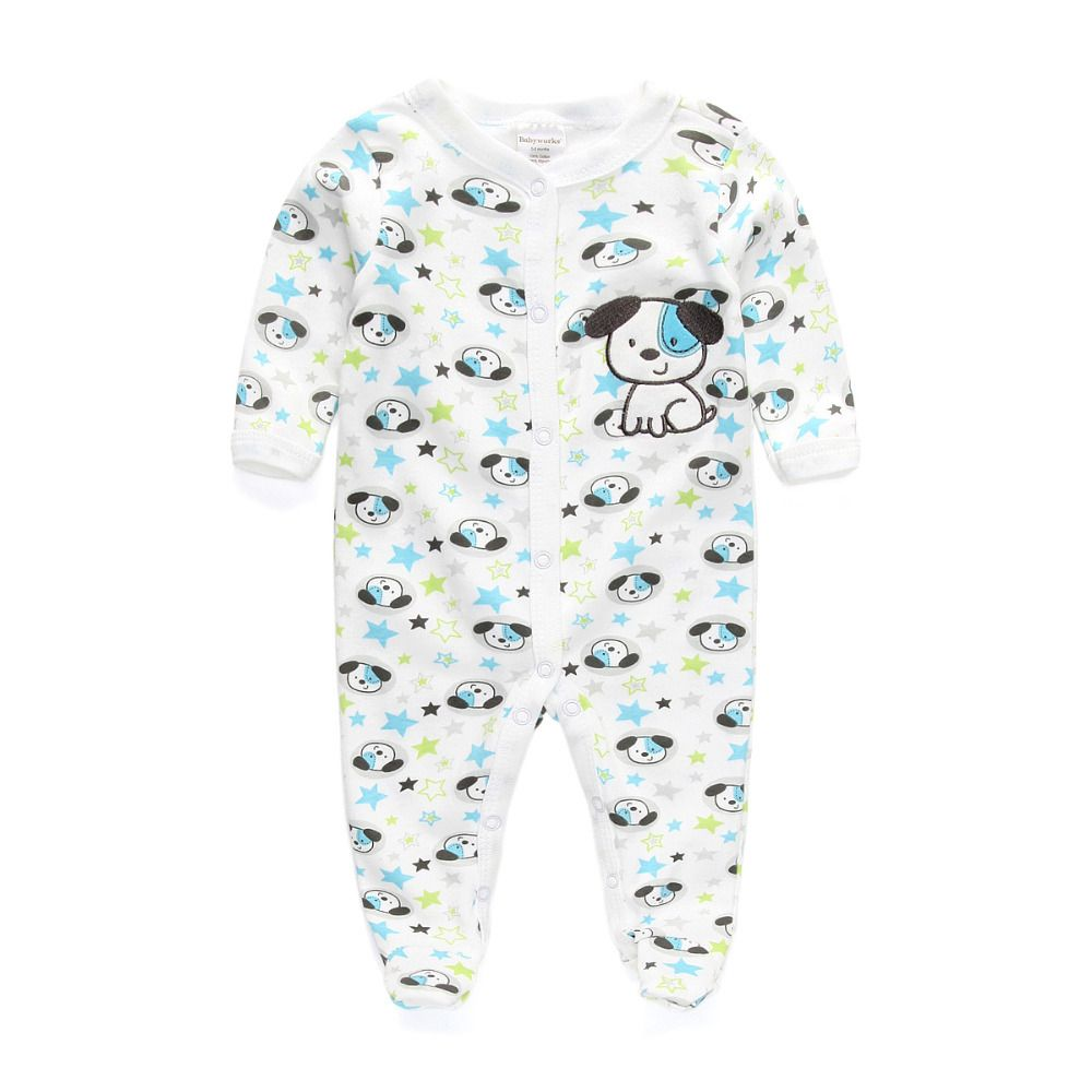 wuayi Matching Family Pajamas Set Christmas Letter Print Romper Jumpsuit for Baby Boy Girl