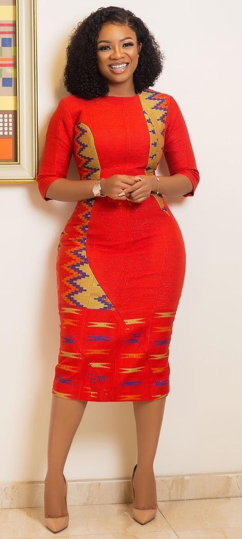 How to Look Classic Like Serwaa Amihere - 30+ Outfits #africanfashion