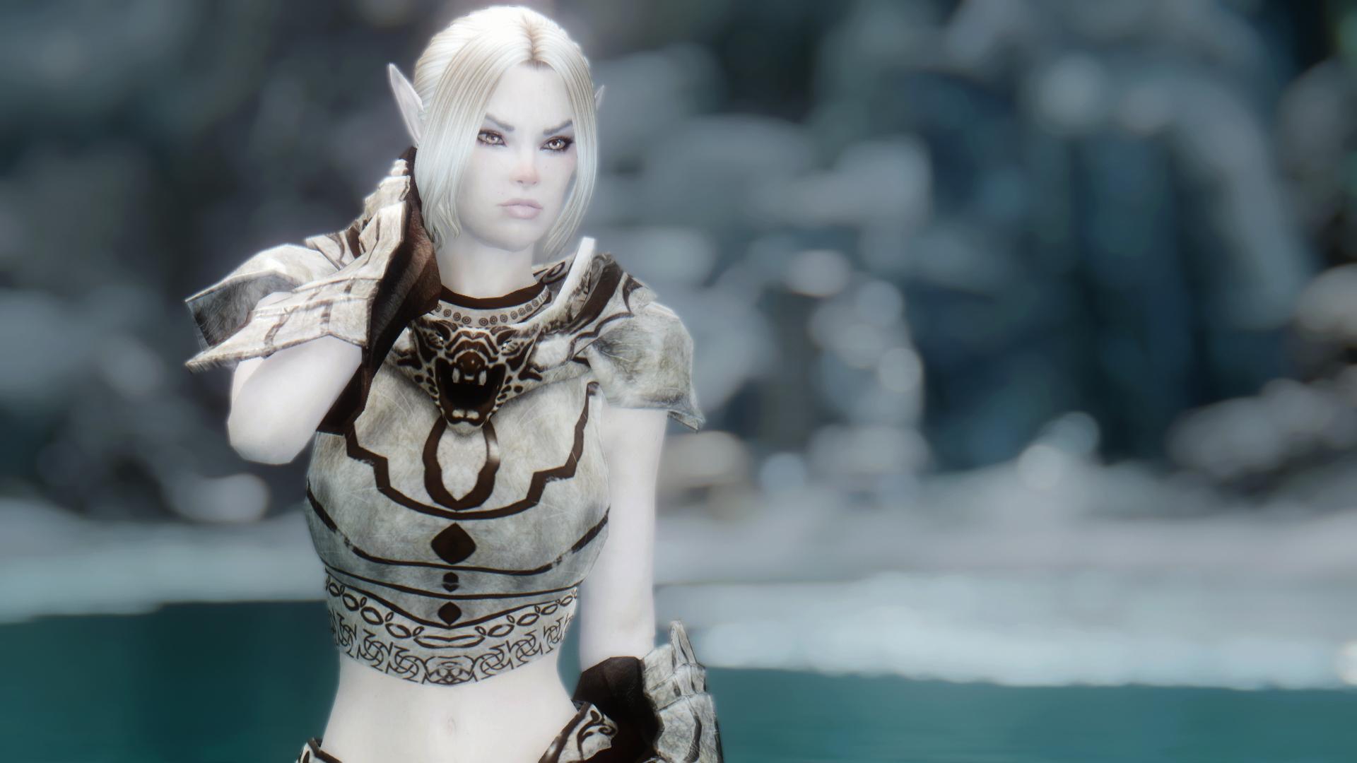 Skyrim Elf Mod Skyrim Nexus Mods Modded Snow Elf Armour