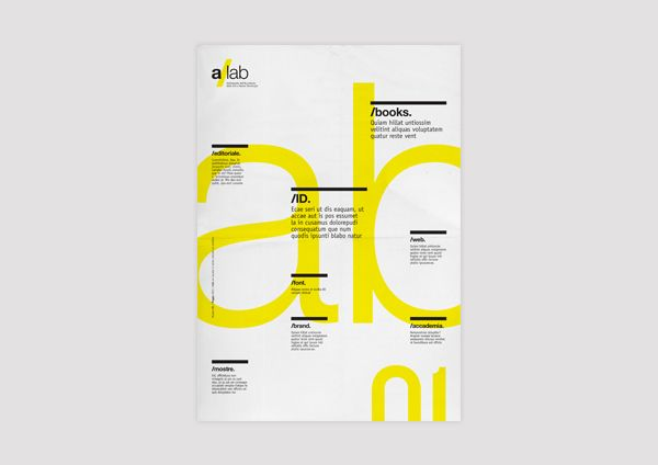 a/lab - Tabloid | EDITORIAL DESIGN on Behance