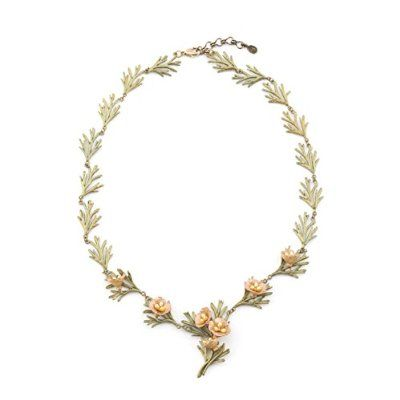 California Poppy Wreath Collar Necklace by Michael Michaud