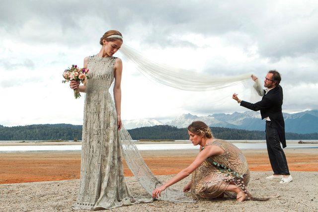 Patagonian Pairing: Sofía Sanchez Barrenechea and Alexandre de Betak's Wedding - Vogue