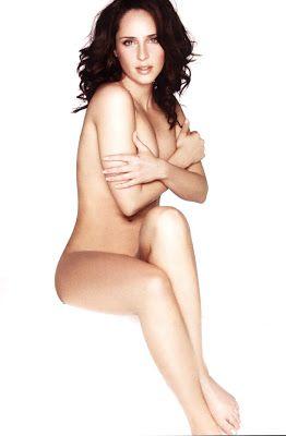 Girl bent open naked