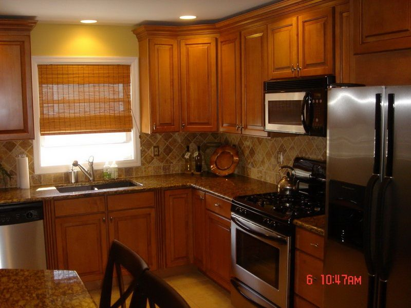 Kitchen Color Ideas With Oak Cabinets Lighting Style  Kitchens Delectable Kitchen Cabinet Color Design Design Inspiration