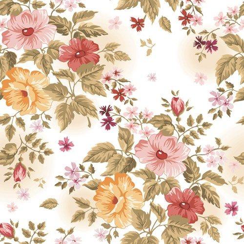 Beautiful Floral Patterns Vector Ser 01 Floral Pattern Vector Vintage Flowers Wallpaper Floral Printables