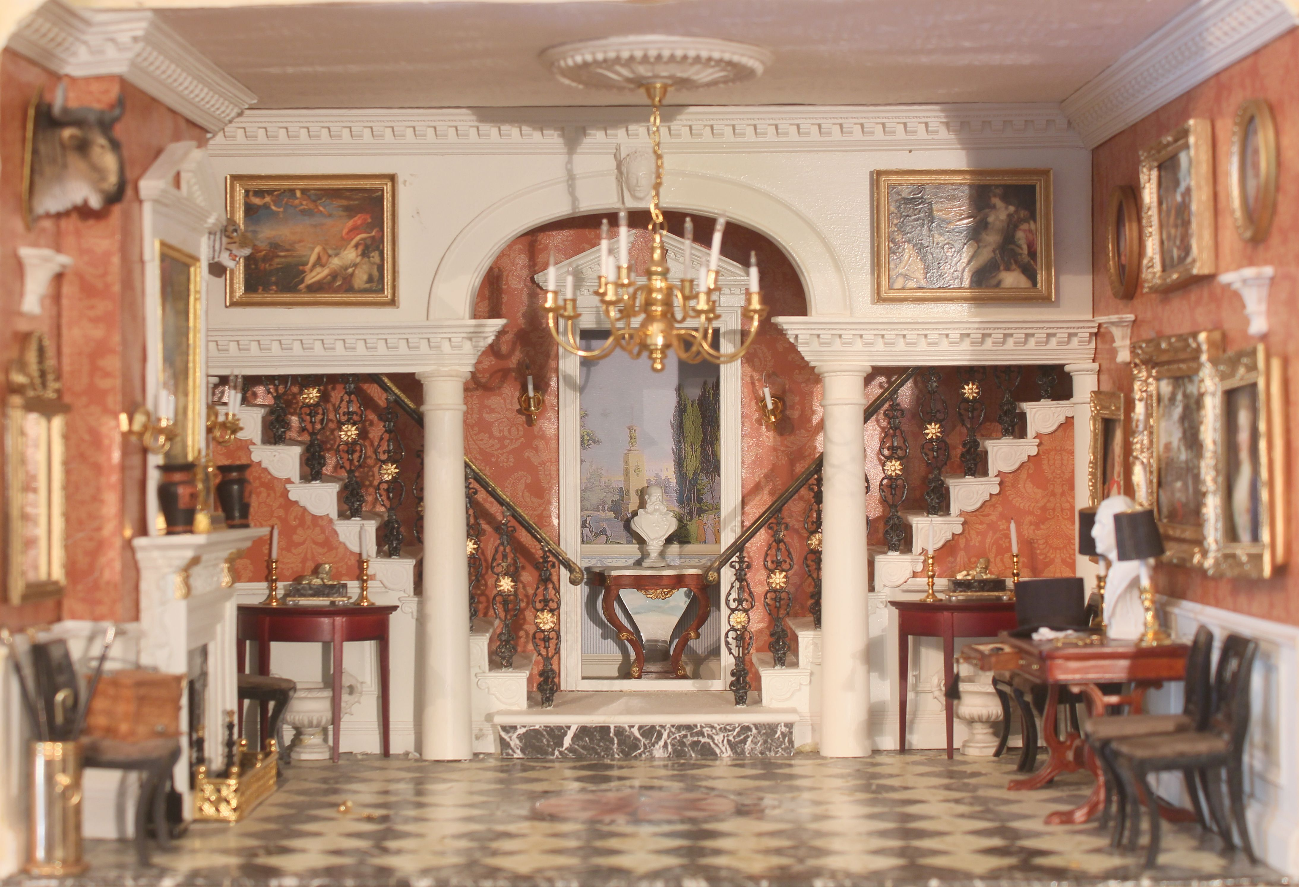 The entrance hall to the majestic Regency Merriman Park. Find out more in Aug 2014 issue of DHMS.