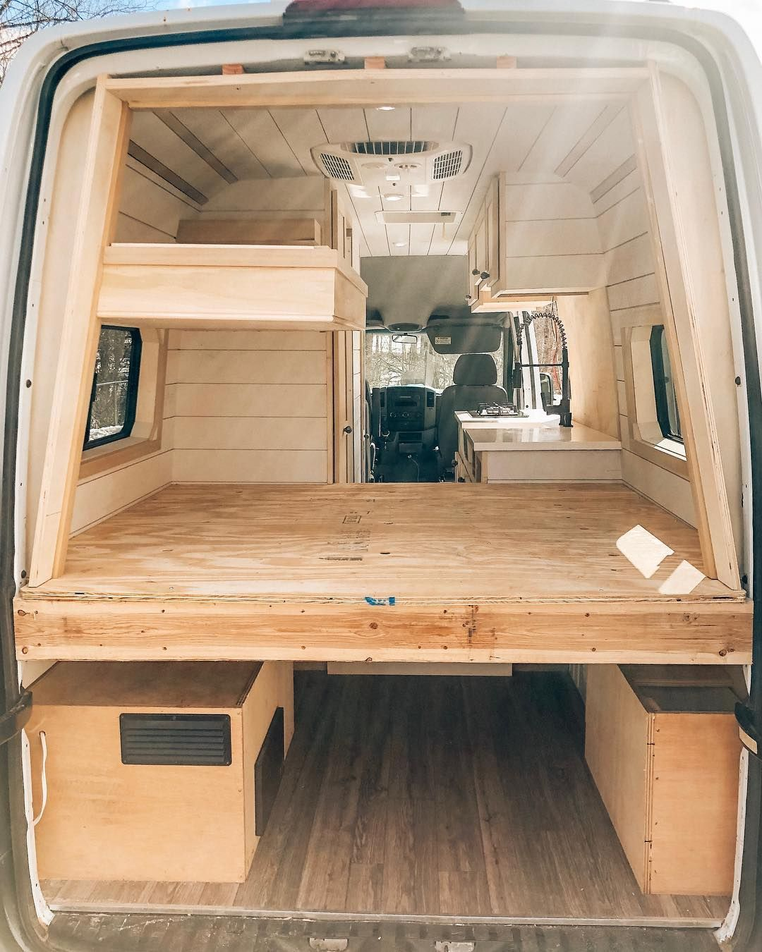 "Photo of Van Life| Jake + Gianna + Luna on Instagram: ""Community. I can not say enough about this #vanlife community. From the first moment Gianna and I began researching this lifestyle,…"""