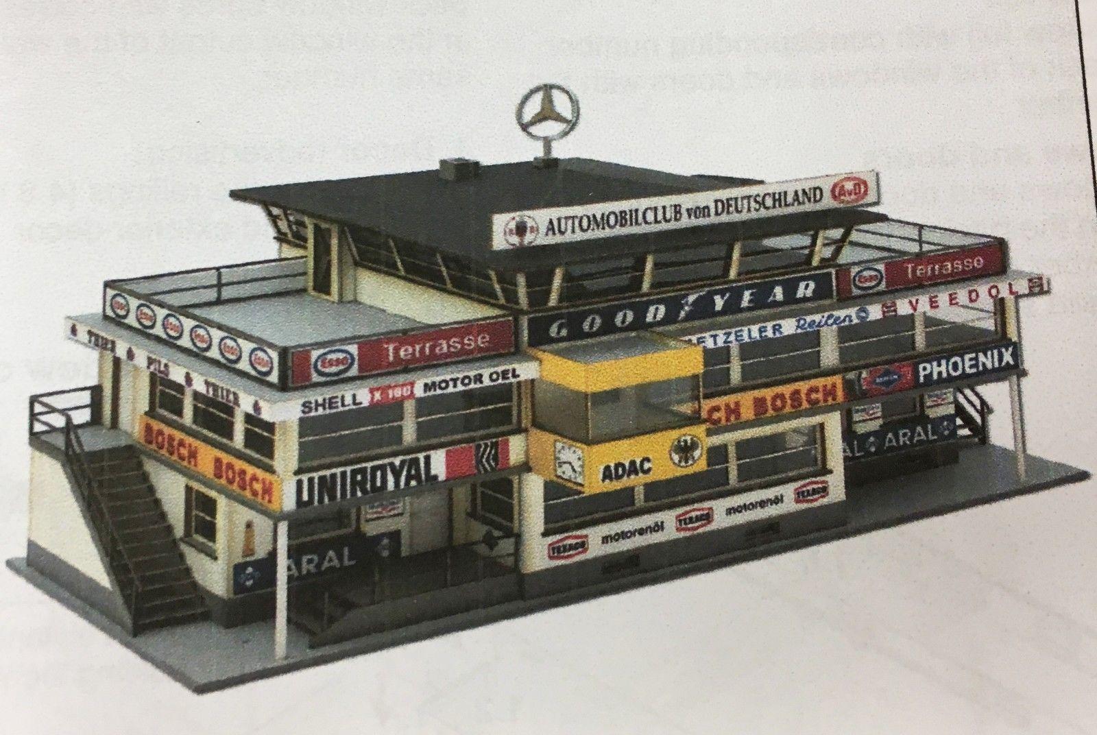 Car Toys Aurora Co: START FINISH BUILDING NURBURGRING 1960S HO SLOT CAR