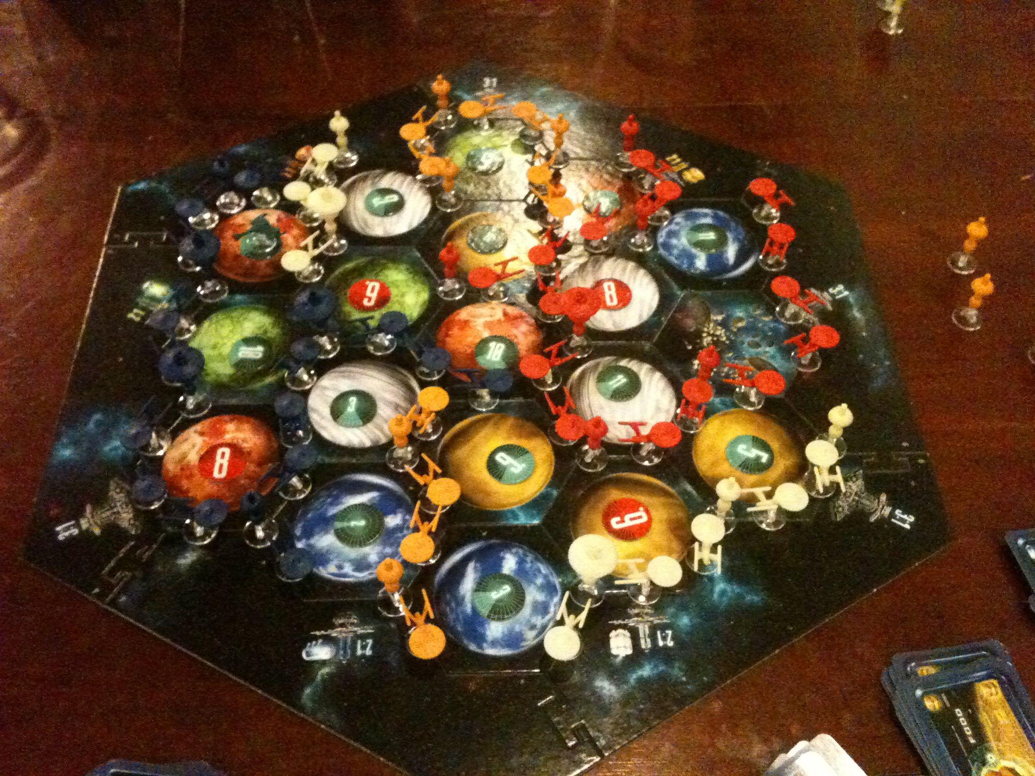 Star Trek Catan Set Up. Fun board games, Catan, Settlers
