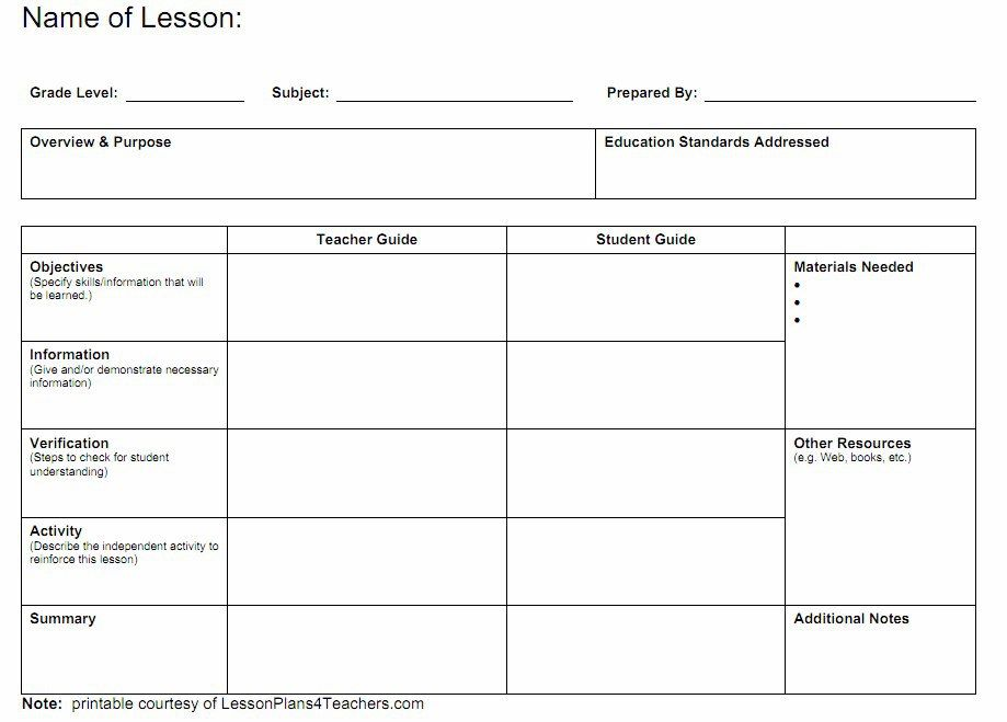 Www.Lessonplans4Teachers.Com_Pdf_Individuallesson.Pdf-1 | School